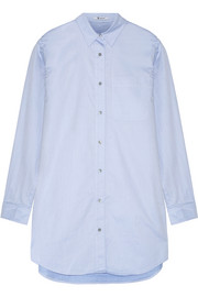 T by Alexander Wang Cotton-poplin mini shirt dress