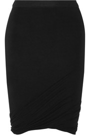 Stretch-modal jersey mini skirt