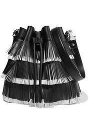Proenza Schouler Bucket medium fringed leather shoulder bag