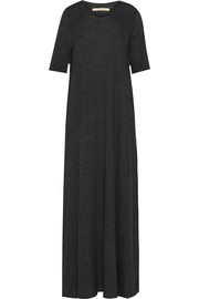 Cotton-blend jersey maxi dress