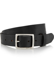 Boyfriend leather belt