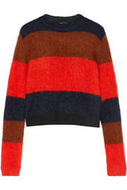 Petra striped knitted sweater