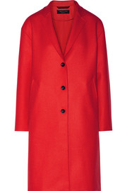 Blankett wool-blend twill coat