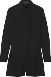 Rag & bone Teresa stretch-crepe playsuit
