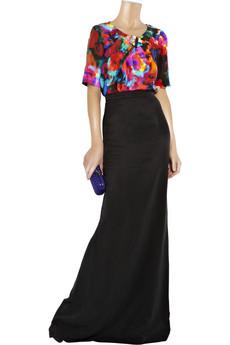 Erdem|Chie twill maxi skirt|NET-A-PORTER.COM from net-a-porter.com