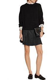 Rag & bone Suki suede mini skirt