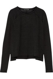 Camden stretch-knit top