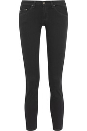 The Capri cropped mid-rise skinny jeans