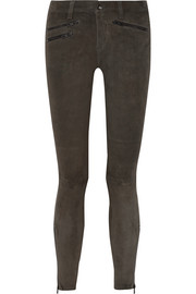 RBW 23 stretch-suede skinny pants