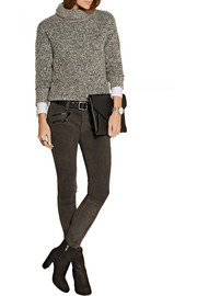 Rag & bone RBW 23 stretch-suede skinny pants