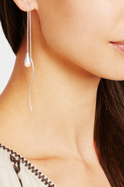 Chan Luu Silver pearl earrings