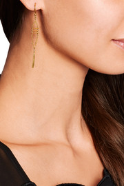 Chan Luu Gold-plated Swarovski crystal earrings