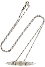 Chan Luu Silver quartz necklace