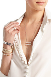 Chan Luu Silver pearl necklace