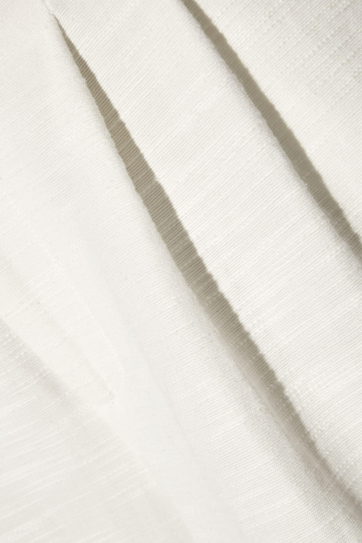 APIECE APART Taiyana slub woven wide-leg pants