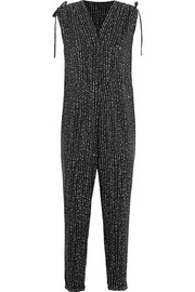 The Twilight printed poplin jumpsuit