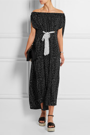 The Cape printed poplin maxi dress
