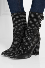 Merli studded suede boots