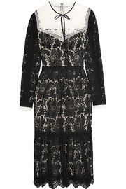 Erdem Georgie guipure and corded lace dress