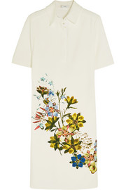 Bibiana floral-print stretch-crepe dress