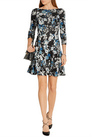 Erdem Vivi floral-print jersey mini dress