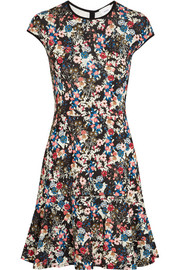 Darlina floral-print stretch-ponte dress