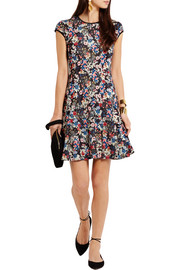 Erdem Darlina floral-print stretch-ponte dress