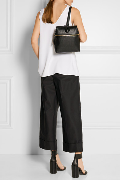 KARA | Small textured-leather backpack | NET-A-PORTER.COM