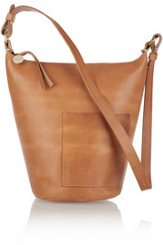 Petite Jeanne leather shoulder bag
