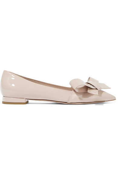 clearance with paypal Miu Miu Patent Pointy-Toe Flat clearance latest collections cheap price fake cheap sale 2015 new free shipping cheap real AjPBvv