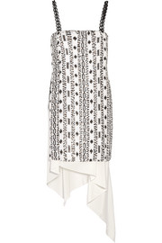 3.1 Phillip Lim Asymmetric sequined silk dress