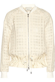 3.1 Phillip Lim Silk-trimmed tweed jacket