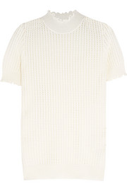 3.1 Phillip Lim Pointelle-knit wool-blend turtleneck sweater