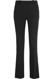 Stretch-woven flared pants