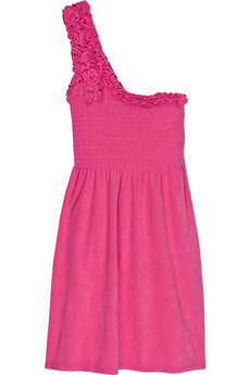 Juicy Couture Cotton-blend ruffle dress