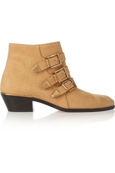 403a0a04 Susanna studded textured-leather ankle boots