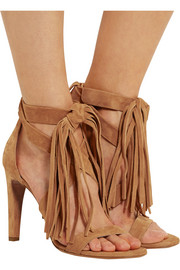 Chloé Tasseled suede sandals