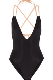 The Alexandra two-tone swimsuit