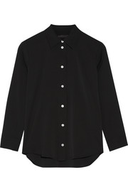 The Row Lotra stretch-silk georgette shirt