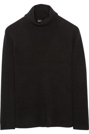 Keola ribbed cashmere turtleneck sweater