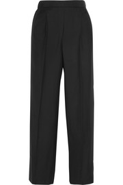 Daray twill wide-leg pants
