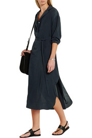 The Row Luid silk crepe de chine dress