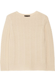 Ribia cashmere and silk-blend sweater