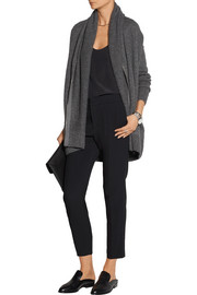 Mater oversized cashmere and silk-blend cardigan