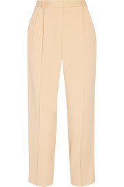 Sala cropped crepe tapered pants