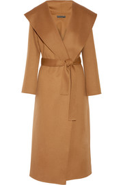 Muna oversized wool wrap coat