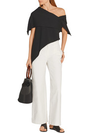 Muro cropped high-rise wide-leg jeans