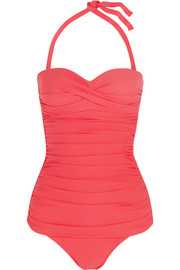 Sardinia ruched swimsuit