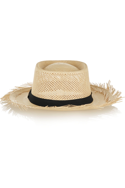 Sensi Studio Dumont frayed toquilla straw sunhat