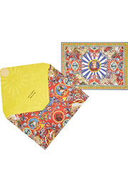 Dolce & Gabbana Carretto Princess set of printed note cards and envelopes